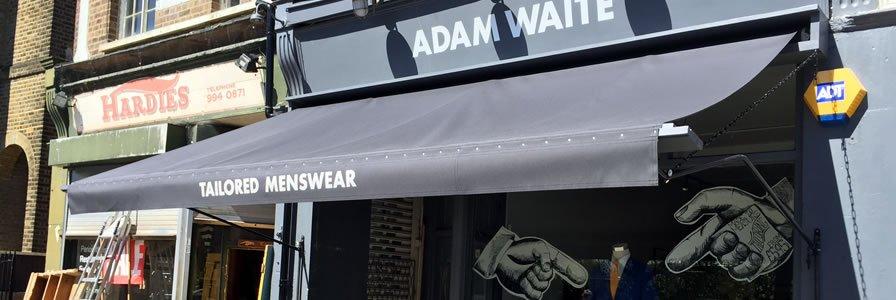 Adam Waite Shop Awning