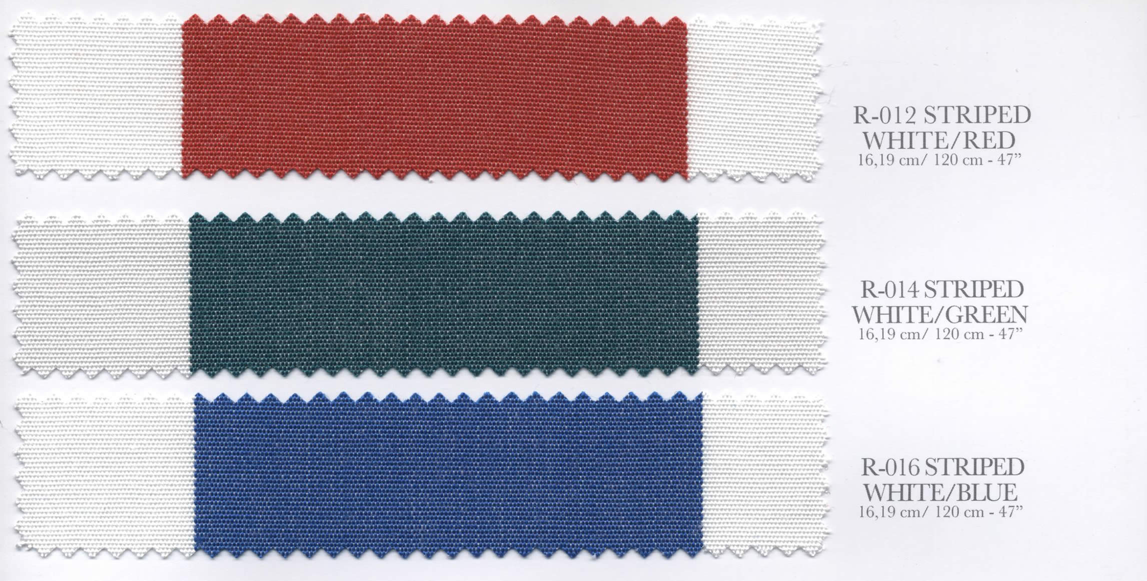 Patio Awning Colour Swatches Set 2