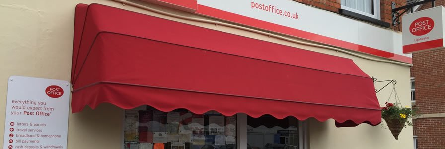 Shop Awning In Surrey